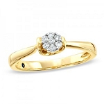 Diamond Ring Designs For Female Natural Round Certified Diamond 0.12 Ct Solid Gold  Weekend
