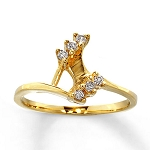Diamond Ring Designs For Female Natural Round Certified Diamond 0.15 Ct Solid Gold  Weekend