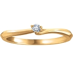 Womens Diamond Rings Natural Round Certified Diamond 0.15 Ct Solid Gold  Weekend