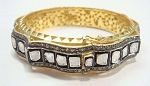 Vintage Tennis Bracelet 9.7 Ct Natural Certified Diamond 925 Sterling Silver Office Wear