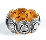 Vintage Wedding Ring 2.76 Ct Natural Certified Diamond 925 Sterling Silver Workwear