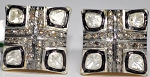 Antique Earrings 2.6 Ct Natural Certified Diamond 925 Sterling Silver Weekend