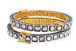 Antique Bracelets 10.66 Ct Natural Certified Diamond 925 Sterling Silver Vacation