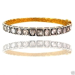 Victorian Bracelet 2.65 Ct Natural Certified Diamond 925 Sterling Silver Jewelry Office Wear