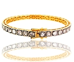 Art Deco Diamond Bracelet 2.45 Ct Natural Certified Diamond 925 Sterling Silver Jewelry Special Occasion