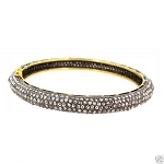 Polki Bracelet 7.8 Ct Natural Certified Diamond 925 Sterling Silver Jewelry Anniversary