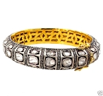 Antique Diamond Bracelet 7 Ct Natural Certified Diamond 925 Sterling Silver Special Occasion