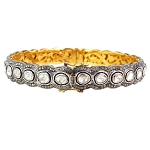 Art Deco Diamond Bracelet 16 Ct Natural Certified Diamond 925 Sterling Silver Jewelry Weekend