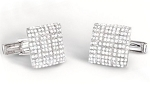 1.85 Ct Natural Untreated Diamond Solid Gold Certified Cufflink