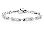 Eternity Bracelets 3.35 Ct Natural Untreated Diamond Solid Gold Natural Certified