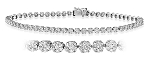 Bracelets for Women 4.5 Ct Natural Untreated Diamond Solid Gold Natural Certified