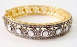 Antique Tennis Bracelet 8.27 Ct Natural Certified Diamond 925 Sterling Silver Weekend