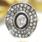 Victorian Style Engagement Rings 1.12 Ct Natural Certified Diamond 925 Sterling Silver Vacation