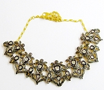 Vintage Necklaces 6.25 Ct Natural Certified Diamond 925 Sterling Silver Workwear
