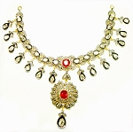 Vintage Necklaces 6.50 Ct Natural Certified Diamond Ruby 2.50 Ct 925 Sterling Silver Vacation