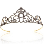 Wedding Headband 14.7 Ct Natural Certified Diamond 925 Sterling Silver Diamond Crown