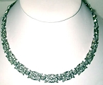 Uncut Diamond Necklace 6.5 Ct Natural Certified Diamond 925 Sterling Silver Anniversary