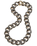 Antique Diamond Necklace 8.6 Ct Natural Certified Diamond 925 Sterling Silver Everyday