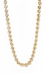Tennis Necklaces 7.00 Ct Natural Diamond Solid Yellow Gold Anniversary Certified
