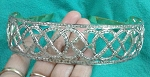 Diamond Tiara 12 Carat Natural Rose Cut Certified Diamond Sterling Silver Queen Crown