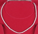 Tennis Necklace Diamond 8.00 Ct Gold Anniversary Set Natural Certified