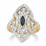 Sapphire Ring Designs 0.90 Ct Certified Diamond (0.20 Ct Gemstone) Solid Yellow Gold Party
