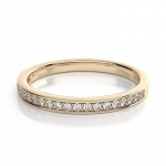 Wedding Bands For Women 1.00 Ct Natural Certified Diamond Solid Gold Wedding