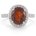 Coral Rings Online 0.72 Ct Natural Certified Diamond (1.15 Ct Gemstone) Solid Gold Everyday