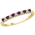 Ruby Diamond Ring 0.25 Ct Certified Diamond (0.30 Ct Gemstone) Solid Gold Party
