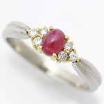 Ruby Ring Design 0.25 Ct Natural Certified Diamond (0.85 Ct Gemstone) Solid Gold Party