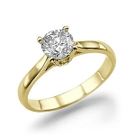 Diamond Solitaire Rings 1.00 Ct Natural Certified Diamond Solid Gold  Wedding