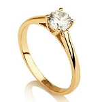 Designs Of Solitaire Rings 0.20 Ct Natural Untreated Solitaire Certified Diamond Solid Yellow Gold Hallmark Wedding