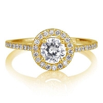 Unique Wedding Rings 1.50 Ct Cen 0.75 Ct Natural Certified Diamond Solid Gold Wedding
