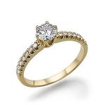 Diamond Wedding Rings For Women 1.52 Ct Cen 1.10 Ct Natural Certified Diamond Solid Gold Wedding