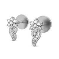 Diamond Earrings 0.17 ct Soldi Gold Wedding Studs