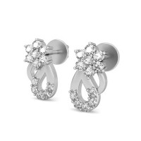 Diamond Earrings Studs 0.2 ct Natural Certified Solid Gold Gift for Love