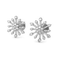 Diamond Earrings for Women 0.51 ct Natural Certified Solid Gold Studs
