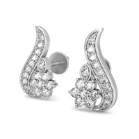 Diamond Studs 0.33 ct Natural Certified Solid Gold Wedding Anniversary Earrings