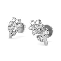 Diamond Earrings 0.23 ct Natural Certified Solid Gold Studs Wedding Anniversary