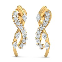 Diamond Earrings for Women 0.27 Ct Natural Certified Solid Gold Weekend