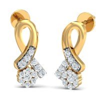 Diamond Earrings for Women 0.32 Ct Natural Certified Solid Gold Special Occasion