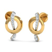 Designer Earrings 0.08 Ct Natural Certified Diamond Special Occasion