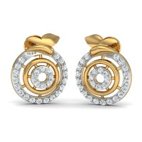 Diamond Earrings for Women 0.308 Ct Natural Certified Solid Gold Weekend