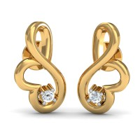 Diamond Earrings for Women 0.05 Ct Natural Certified Weekend