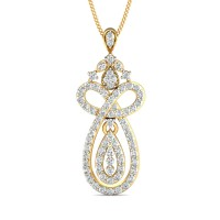 Diamond Pendant 1.065 Ct Natural Certifed Solid GoldSpecial Occasion