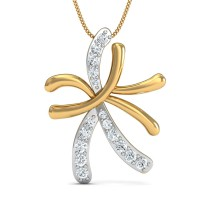 Fine Necklace & Pendant 0.14 Ct Natural Certified Diamond Party