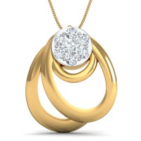 Diamond Pendant Charms 0.25 Ct Natural Certified Solid Gold Everyday