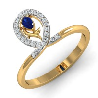 Diamond Ring Designs 0.15 Ct Natural Certified Solid Gold Special Occasion