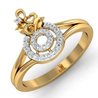 Diamond Ring Designs 0.26 Ct Natural Certified Solid Gold Special Occasion