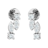 Diamond Earrings Studs 0.18ct Natural Certified Solid Gold Anniversary Gift